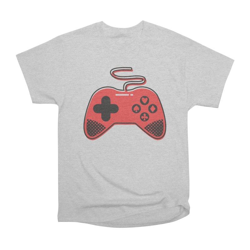 POKER CONTROLLER Men's Heavyweight T-Shirt by EHELPENT