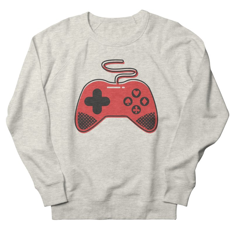 POKER CONTROLLER Men's French Terry Sweatshirt by EHELPENT