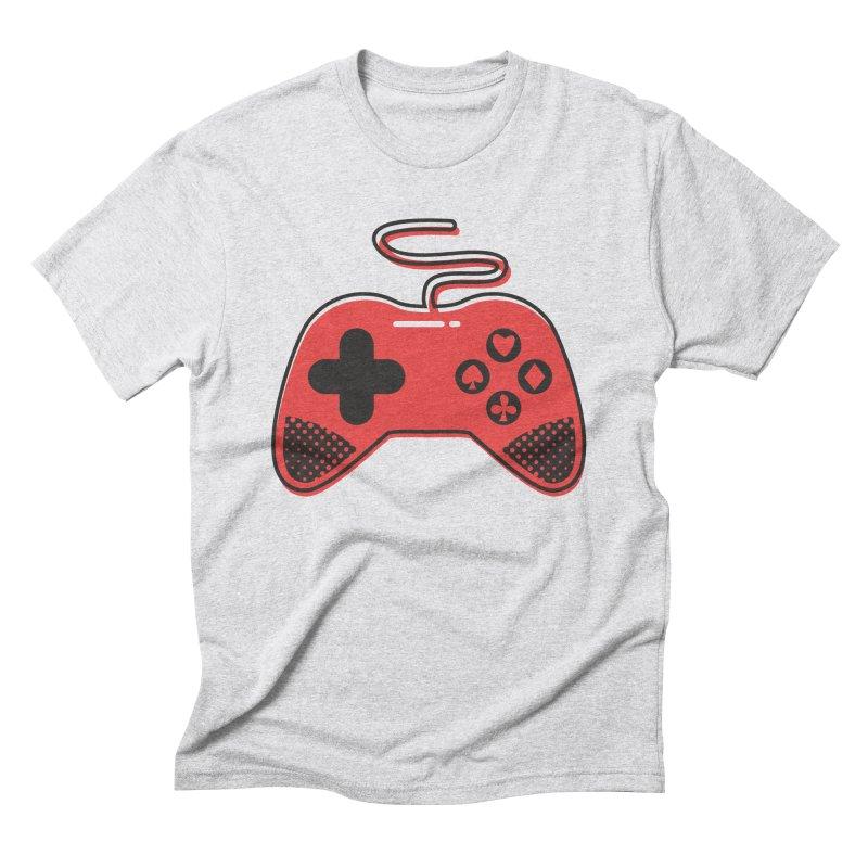 POKER CONTROLLER Men's Triblend T-Shirt by EHELPENT