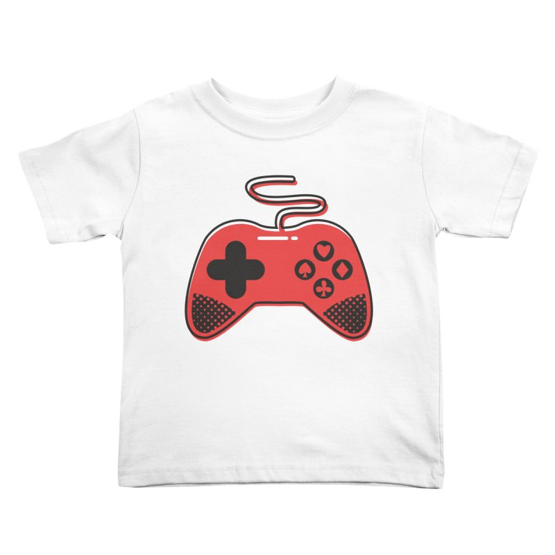 POKER CONTROLLER Kids Toddler T-Shirt by EHELPENT