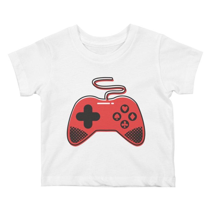 POKER CONTROLLER Kids Baby T-Shirt by EHELPENT