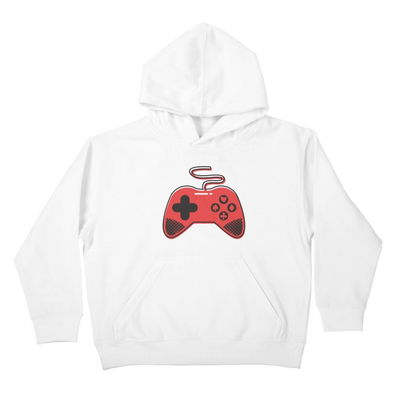 POKER CONTROLLER Kids Pullover Hoody by EHELPENT