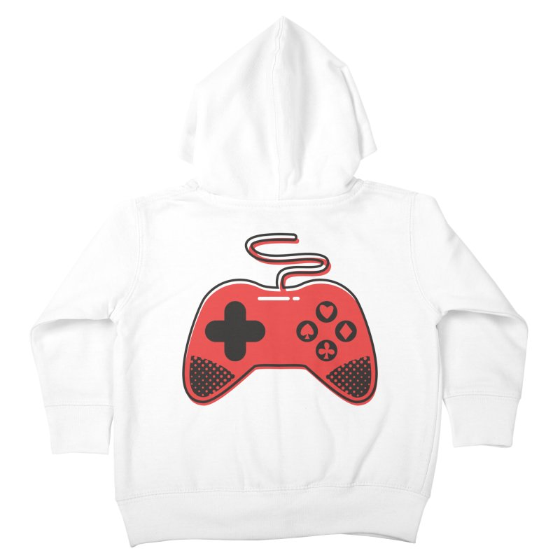 POKER CONTROLLER Kids Toddler Zip-Up Hoody by EHELPENT