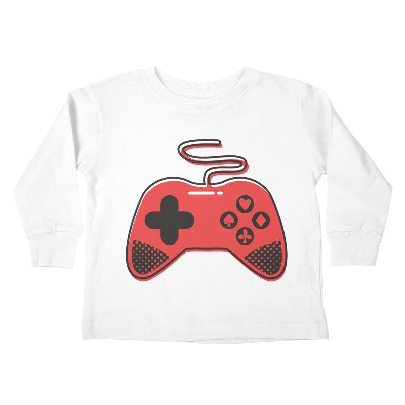 POKER CONTROLLER Kids Toddler Longsleeve T-Shirt by EHELPENT