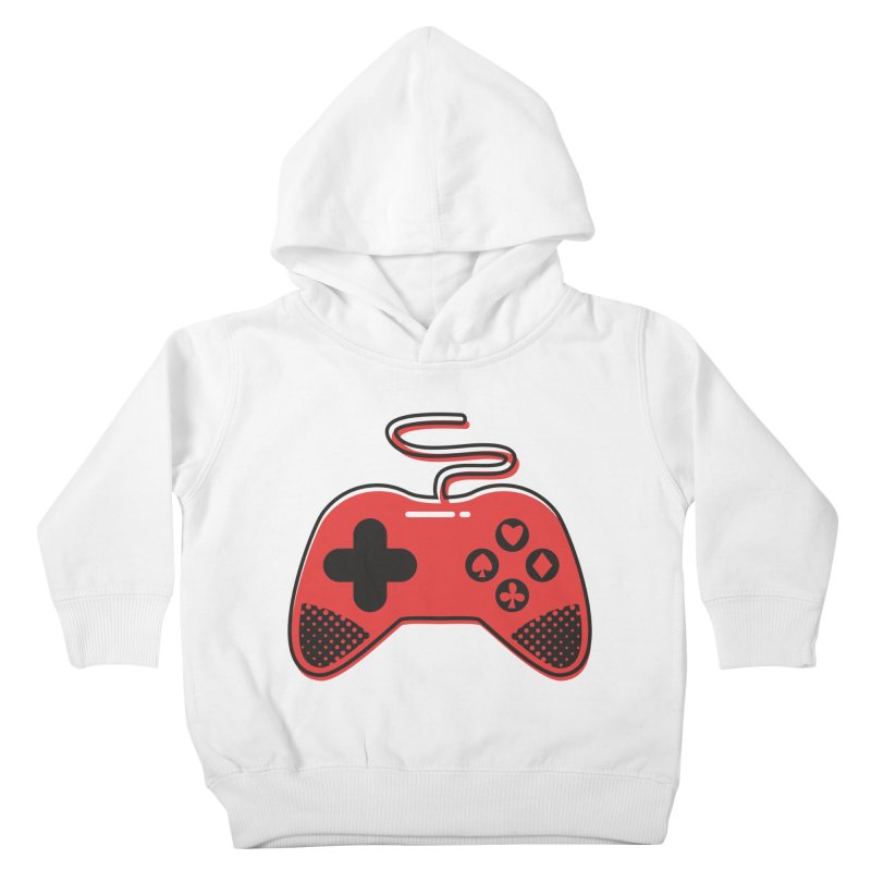 POKER CONTROLLER Kids Toddler Pullover Hoody by EHELPENT