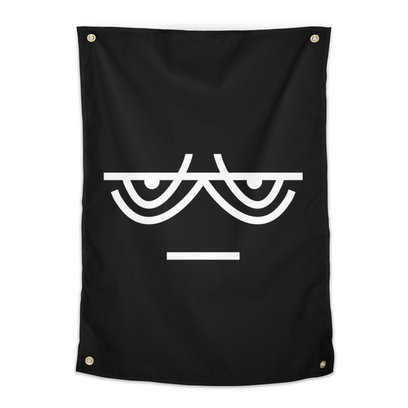TIRED X BORED EMOJI Home Tapestry by EHELPENT