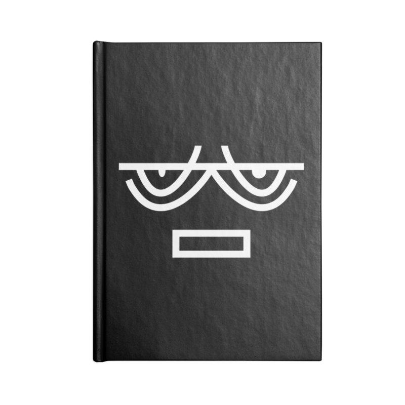 NEUTRAL FACE EMOJI Accessories Notebook by EHELPENT