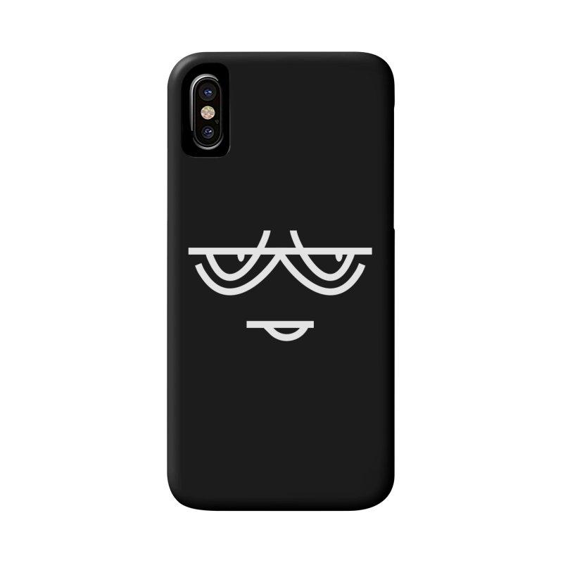 SMIRKING FACE EMOJI Accessories Phone Case by EHELPENT