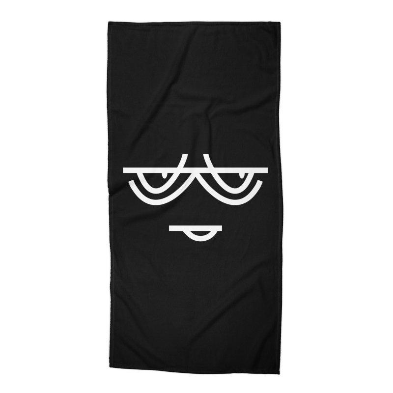 SMIRKING FACE EMOJI Accessories Beach Towel by EHELPENT