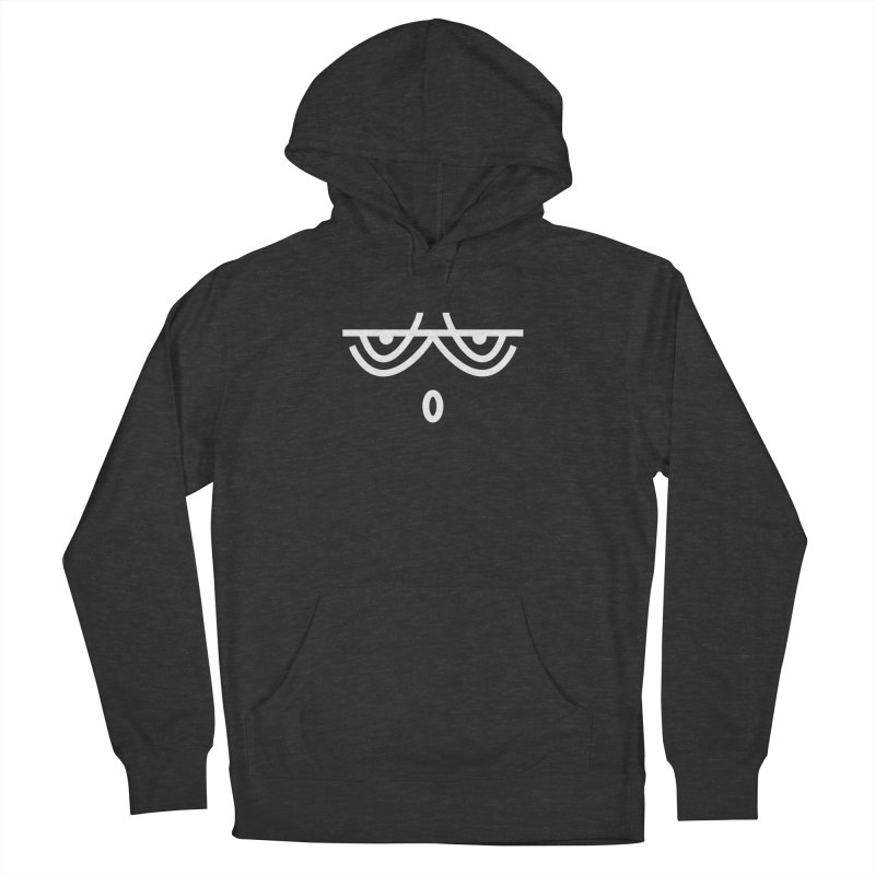 HUSHED EMOJI Men's French Terry Pullover Hoody by EHELPENT