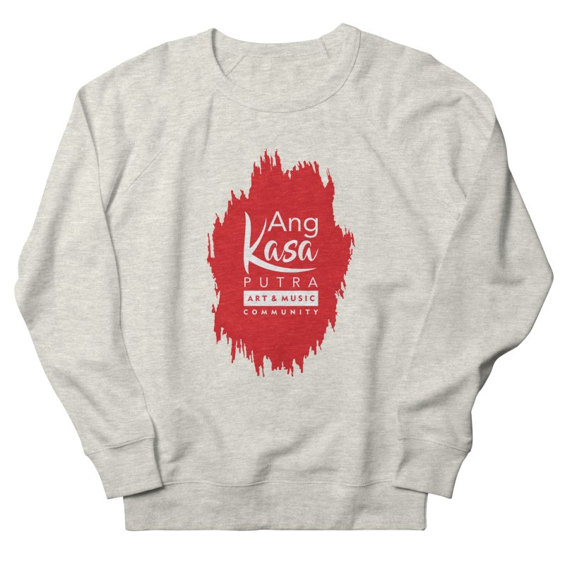 ANGKASA PUTRA (RED) Women's French Terry Sweatshirt by EHELPENT