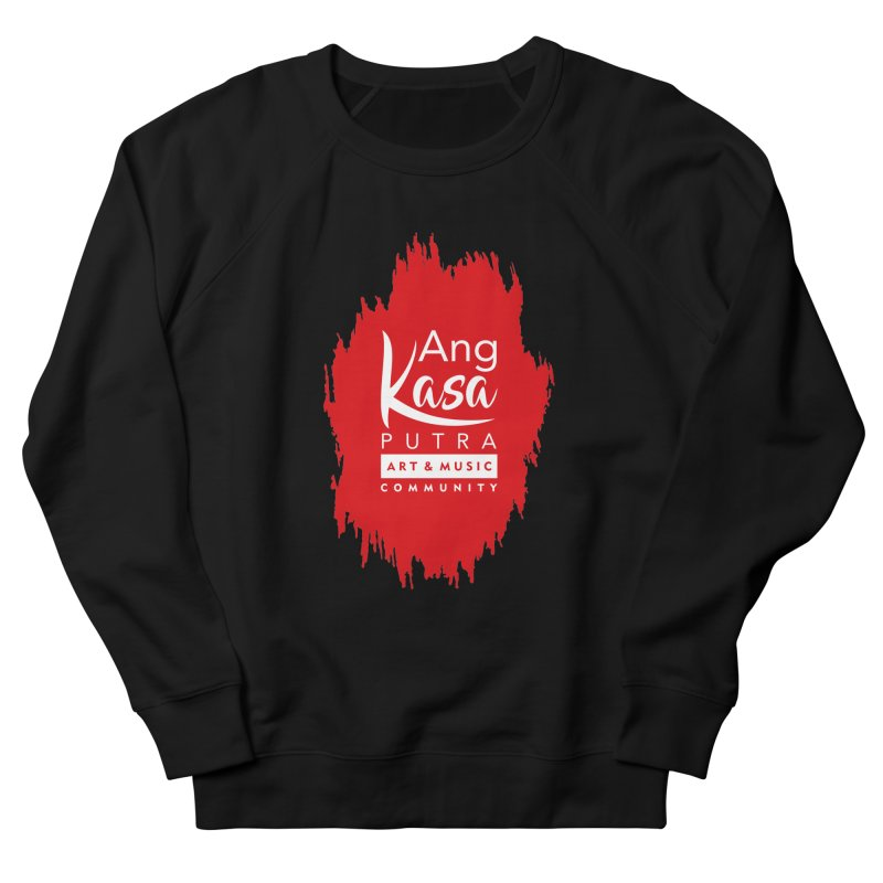 ANGKASA PUTRA (RED) Men's French Terry Sweatshirt by EHELPENT