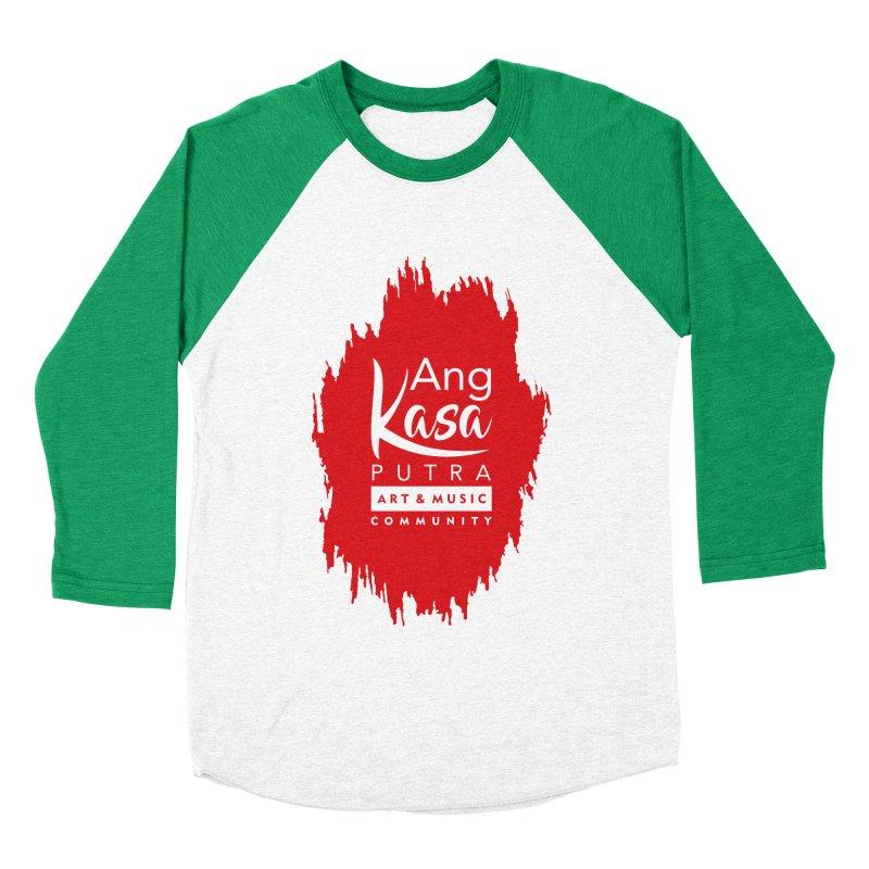 ANGKASA PUTRA (RED) Women's Baseball Triblend Longsleeve T-Shirt by EHELPENT