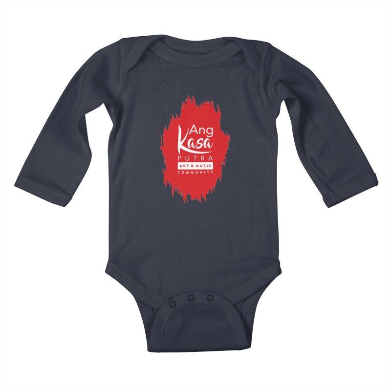 ANGKASA PUTRA (RED) Kids Baby Longsleeve Bodysuit by EHELPENT