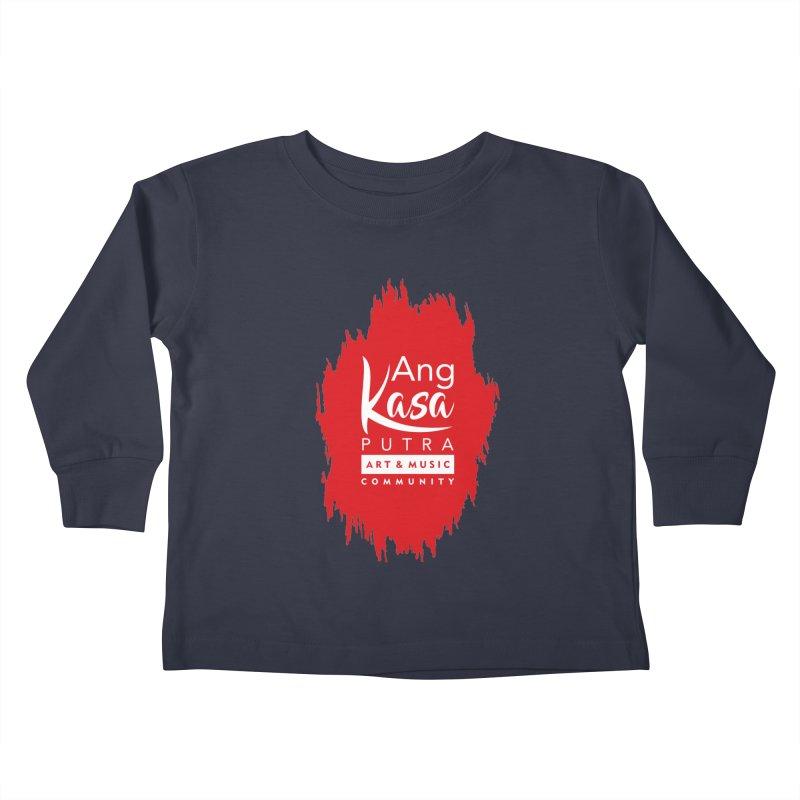 ANGKASA PUTRA (RED) Kids Toddler Longsleeve T-Shirt by EHELPENT