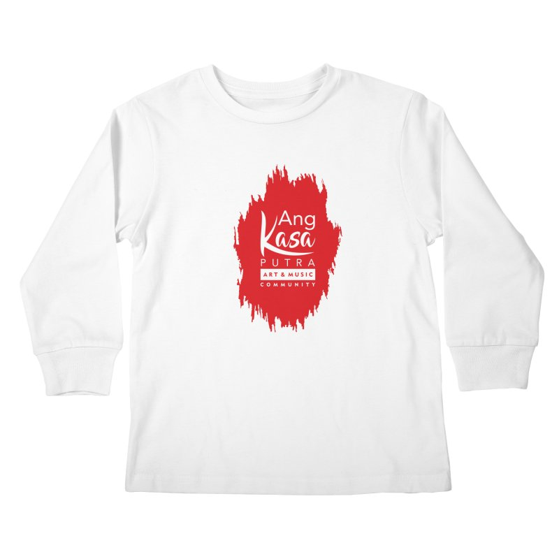ANGKASA PUTRA (RED) Kids Longsleeve T-Shirt by EHELPENT