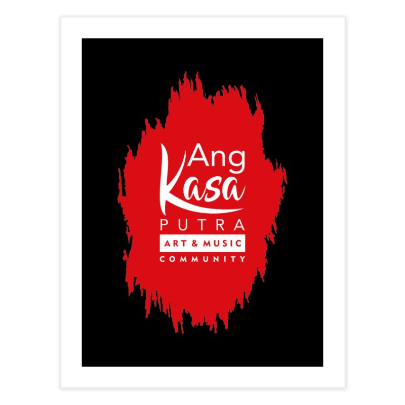 ANGKASA PUTRA (RED) Home Fine Art Print by EHELPENT
