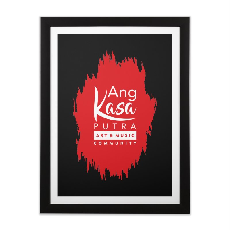 ANGKASA PUTRA (RED) Home Framed Fine Art Print by EHELPENT