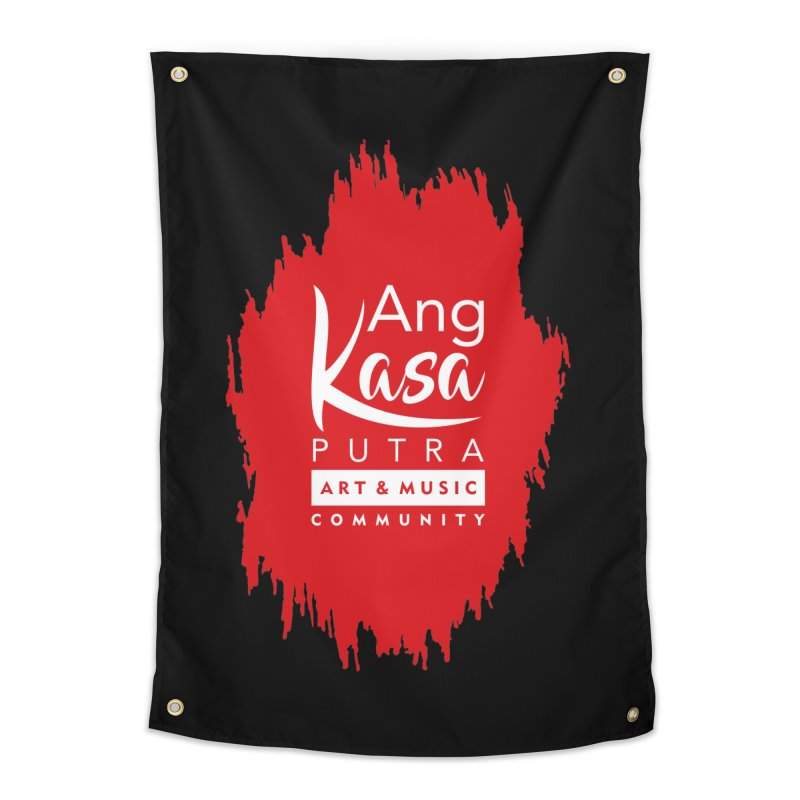 ANGKASA PUTRA (RED) Home Tapestry by EHELPENT