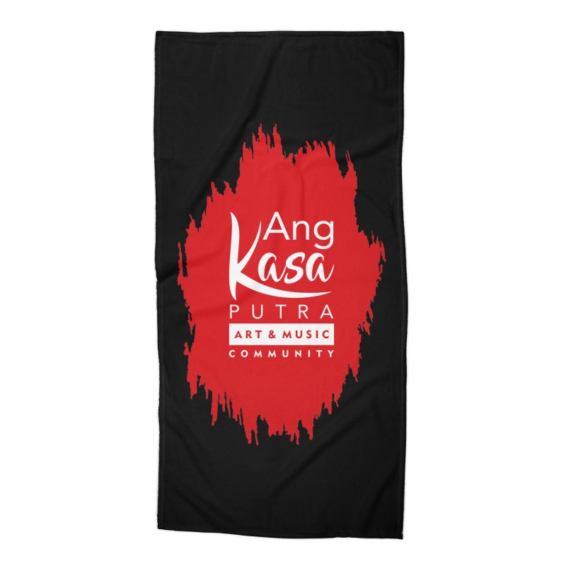 ANGKASA PUTRA (RED) Accessories Beach Towel by EHELPENT