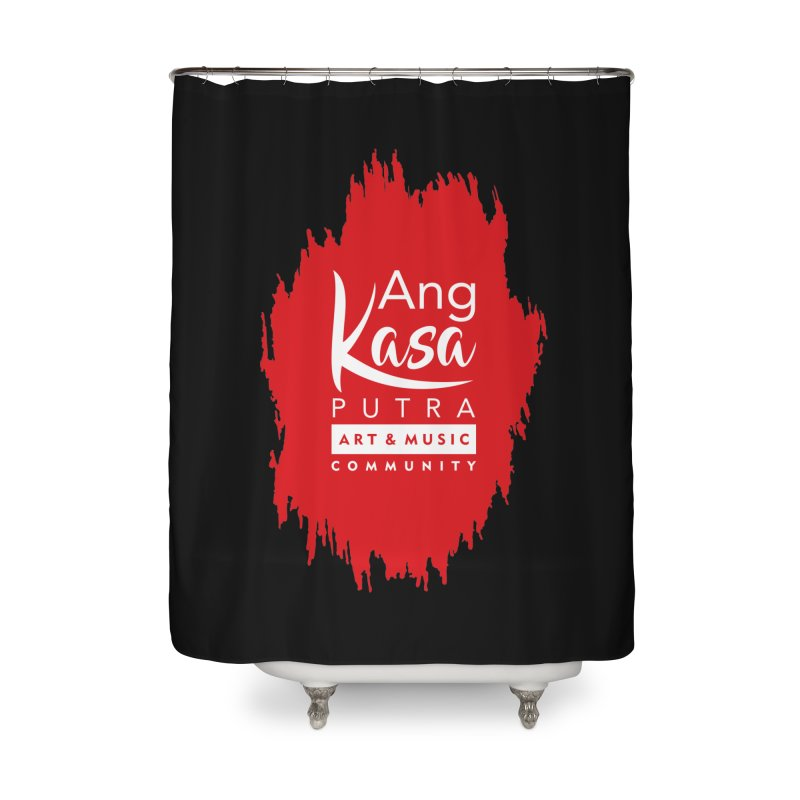ANGKASA PUTRA (RED) Home Shower Curtain by EHELPENT