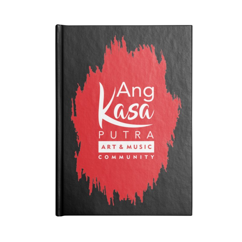 ANGKASA PUTRA (RED) Accessories Notebook by EHELPENT