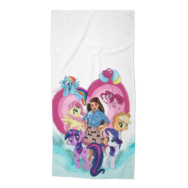My Little Pony Accessories Beach Towel by Eii's Artist Shop