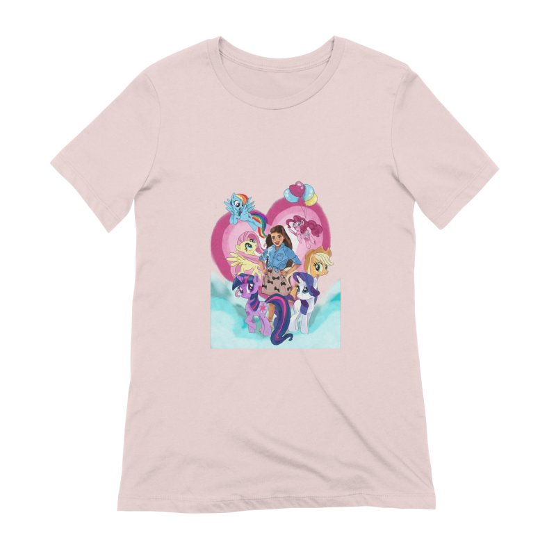 My Little Pony Women's Extra Soft T-Shirt by Eii's Artist Shop