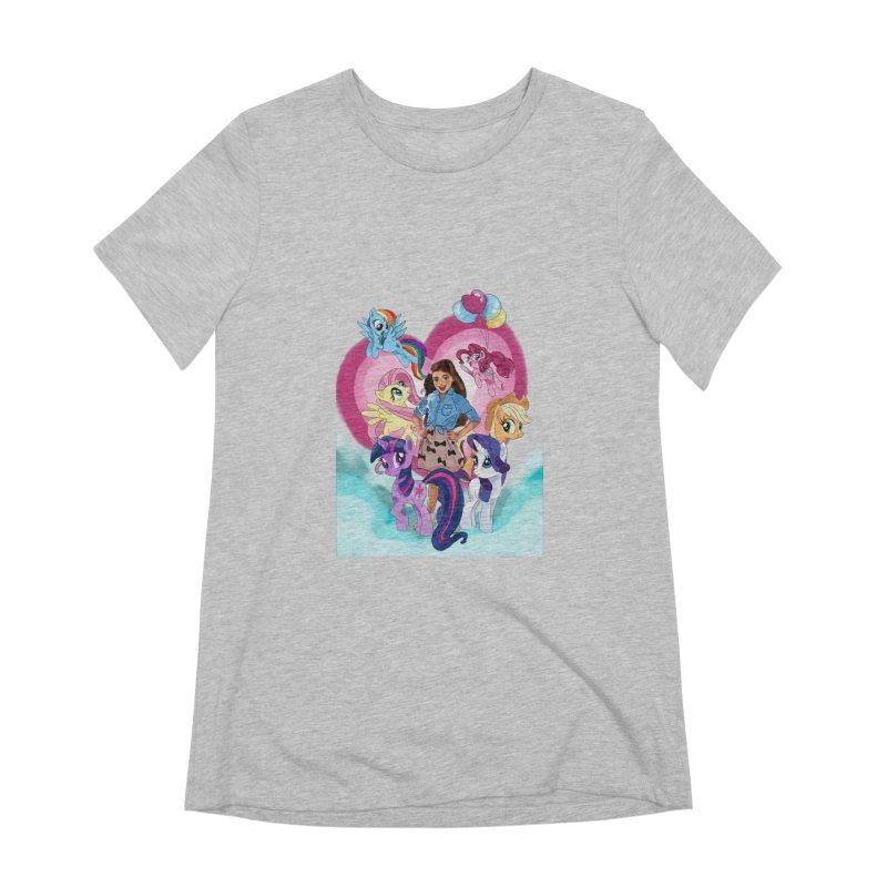 My Little Pony Women's Extra Soft T-Shirt by Eii's Artist Shop