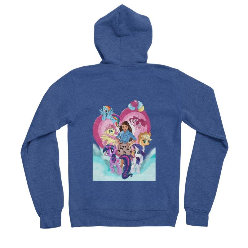 My Little Pony Women's Zip-Up Hoody by Eii's Artist Shop