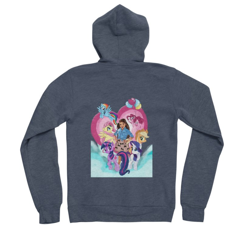 My Little Pony Women's Sponge Fleece Zip-Up Hoody by Eii's Artist Shop