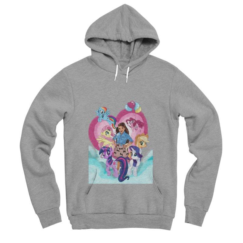 My Little Pony Women's Sponge Fleece Pullover Hoody by Eii's Artist Shop