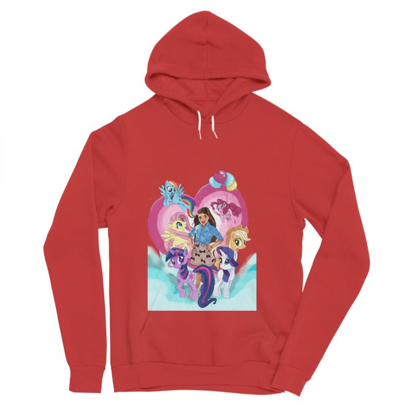 My Little Pony Women's Sponge Fleece Pullover Hoody by Eii's Artist Shop