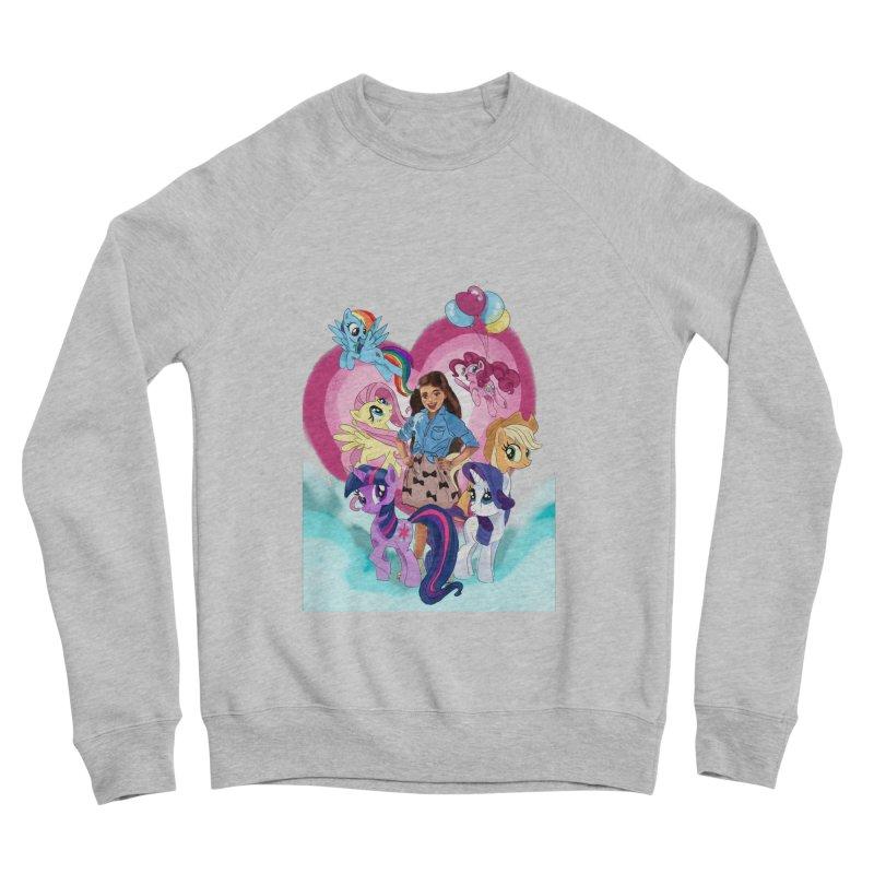 My Little Pony Women's Sponge Fleece Sweatshirt by Eii's Artist Shop