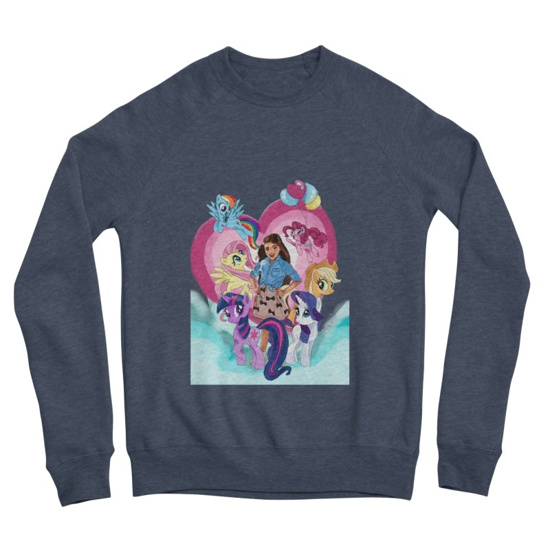 My Little Pony Women's Sponge Fleece Sweatshirt by Eii's Artist Shop