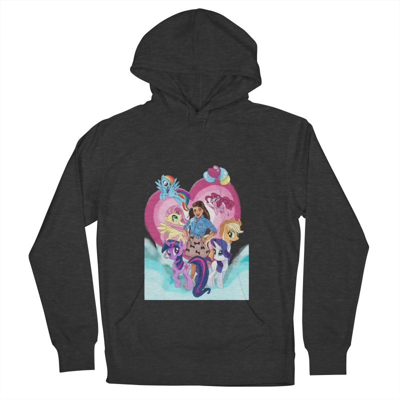 My Little Pony Women's French Terry Pullover Hoody by Eii's Artist Shop