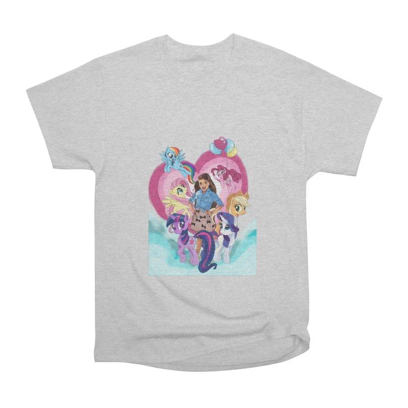 My Little Pony Women's Heavyweight Unisex T-Shirt by Eii's Artist Shop