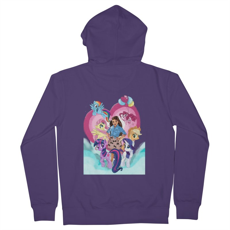 My Little Pony Women's Zip-Up Hoody by Eii's Artist Shop