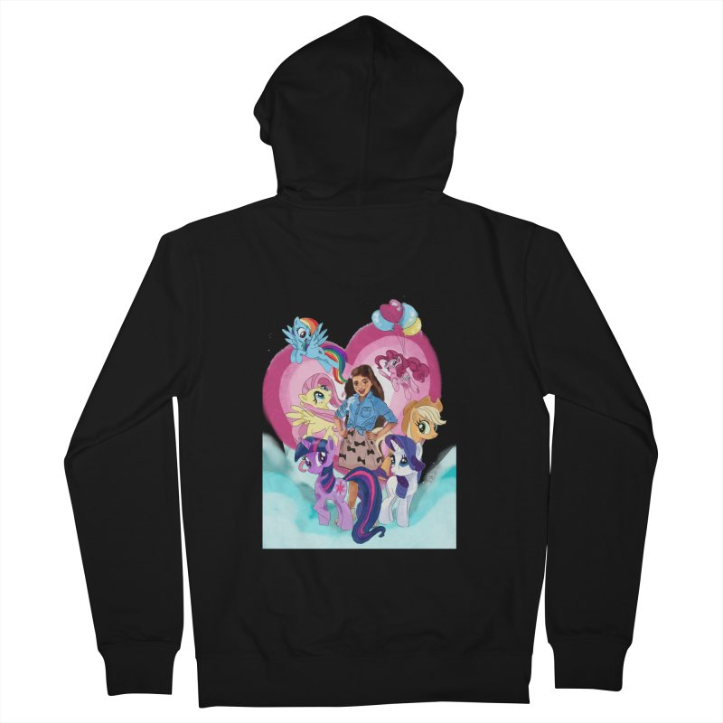 My Little Pony Women's French Terry Zip-Up Hoody by Eii's Artist Shop