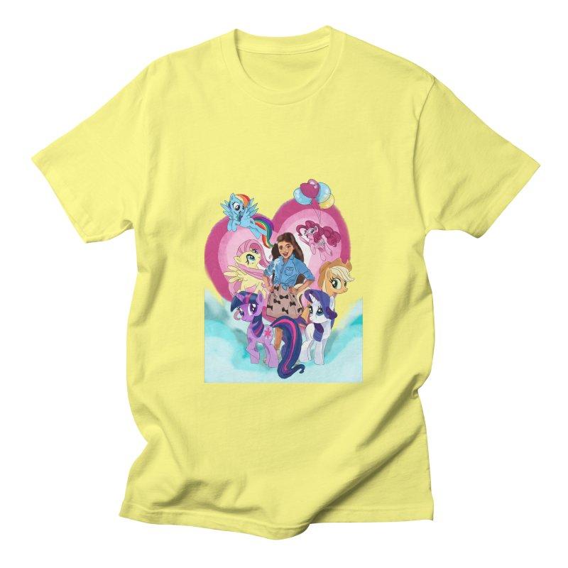 My Little Pony Women's Regular Unisex T-Shirt by Eii's Artist Shop