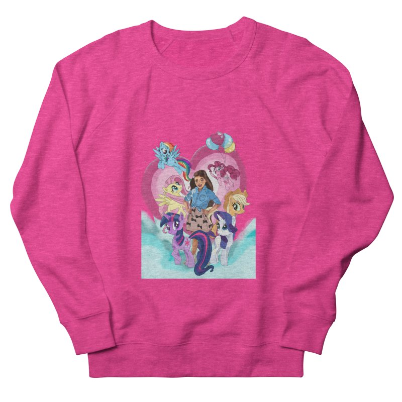 My Little Pony Women's French Terry Sweatshirt by Eii's Artist Shop