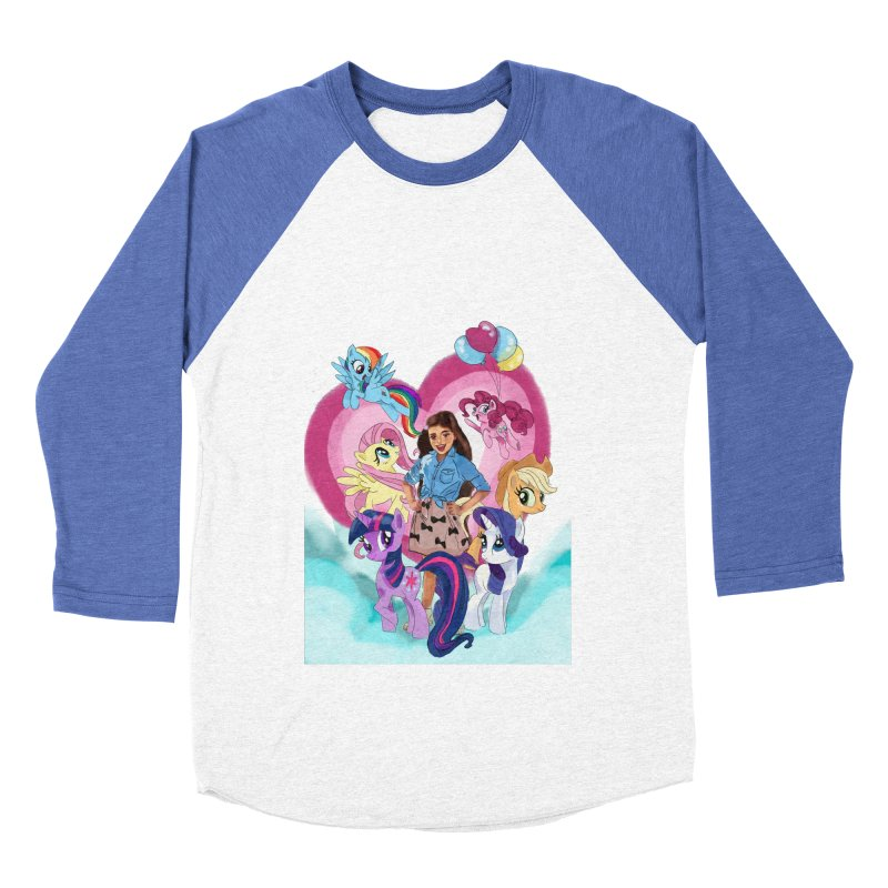 My Little Pony Women's Baseball Triblend Longsleeve T-Shirt by Eii's Artist Shop