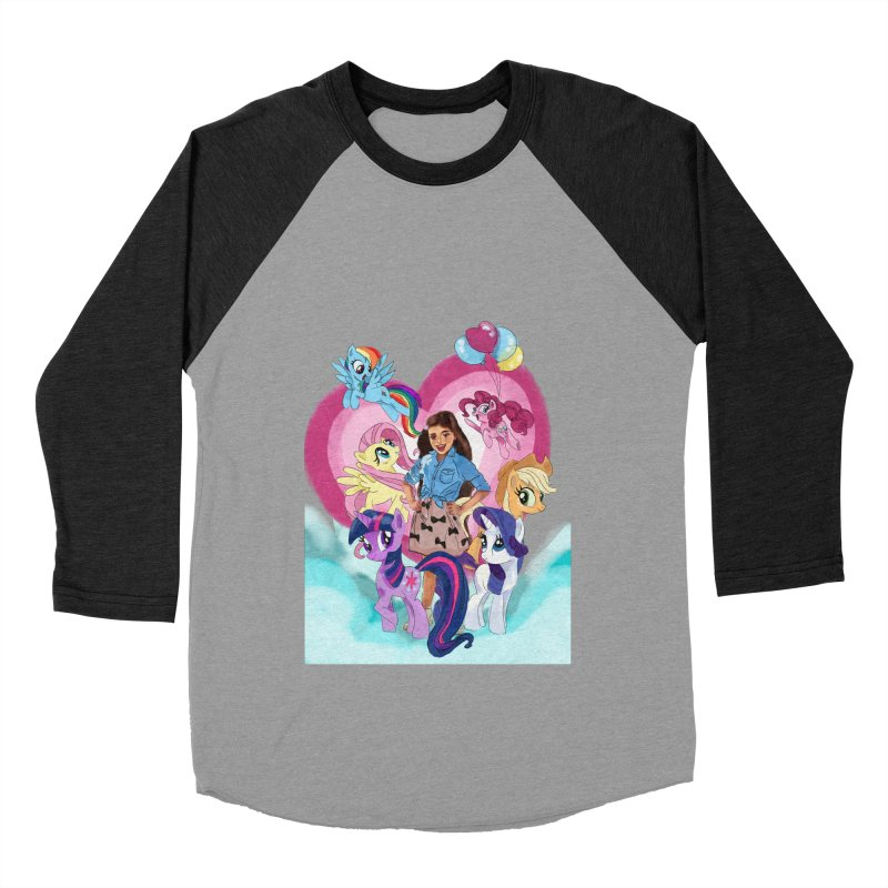 My Little Pony Women's Baseball Triblend Longsleeve T-Shirt by Eii's Artist Shop