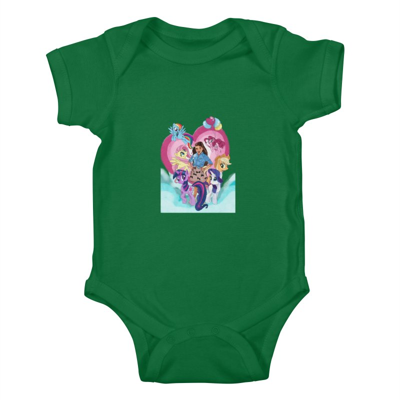 My Little Pony Kids Baby Bodysuit by Eii's Artist Shop