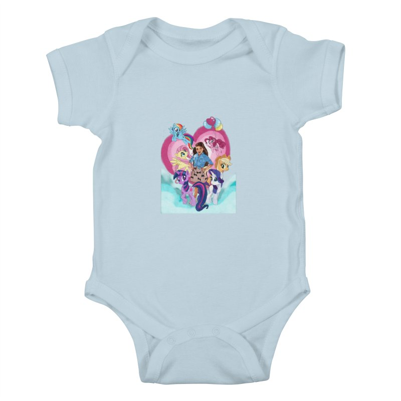 My Little Pony Kids Baby Bodysuit by Eii's Artist Shop