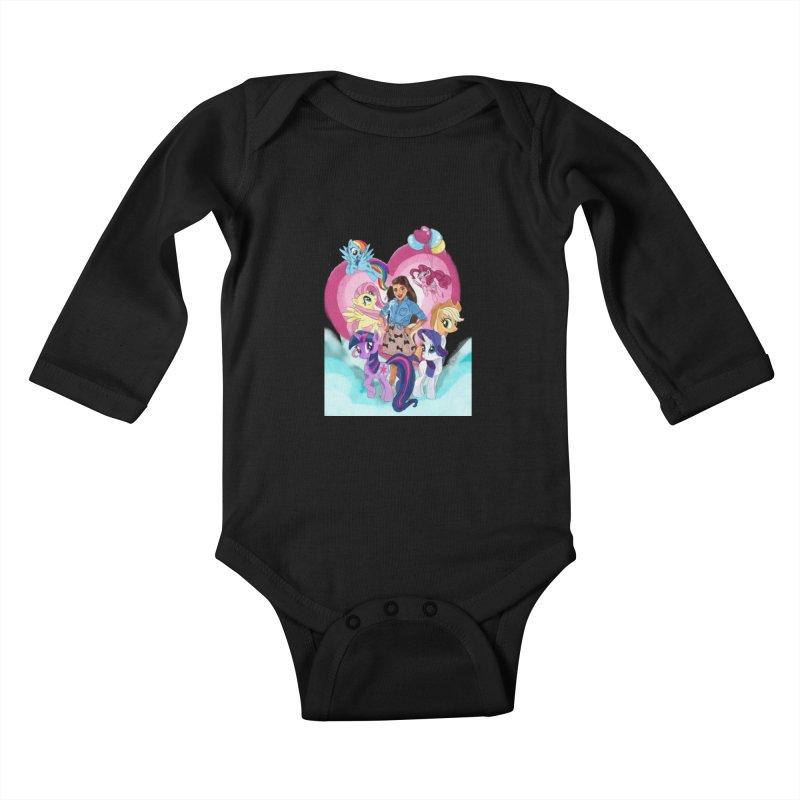 My Little Pony Kids Baby Longsleeve Bodysuit by Eii's Artist Shop
