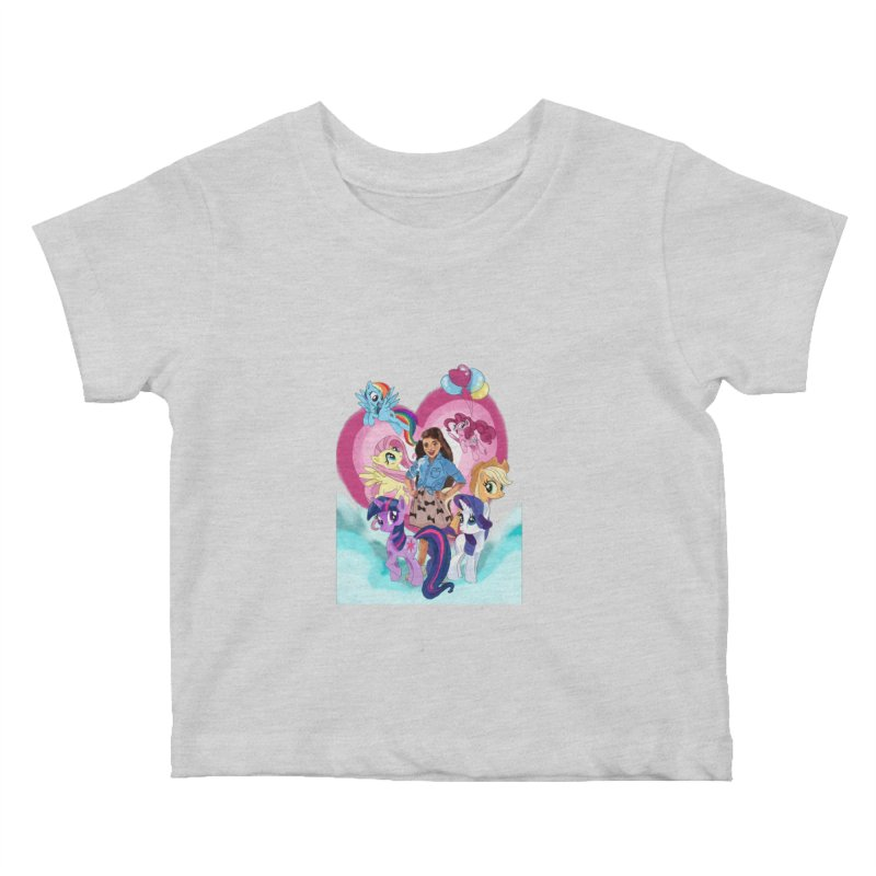 My Little Pony Kids Baby T-Shirt by Eii's Artist Shop