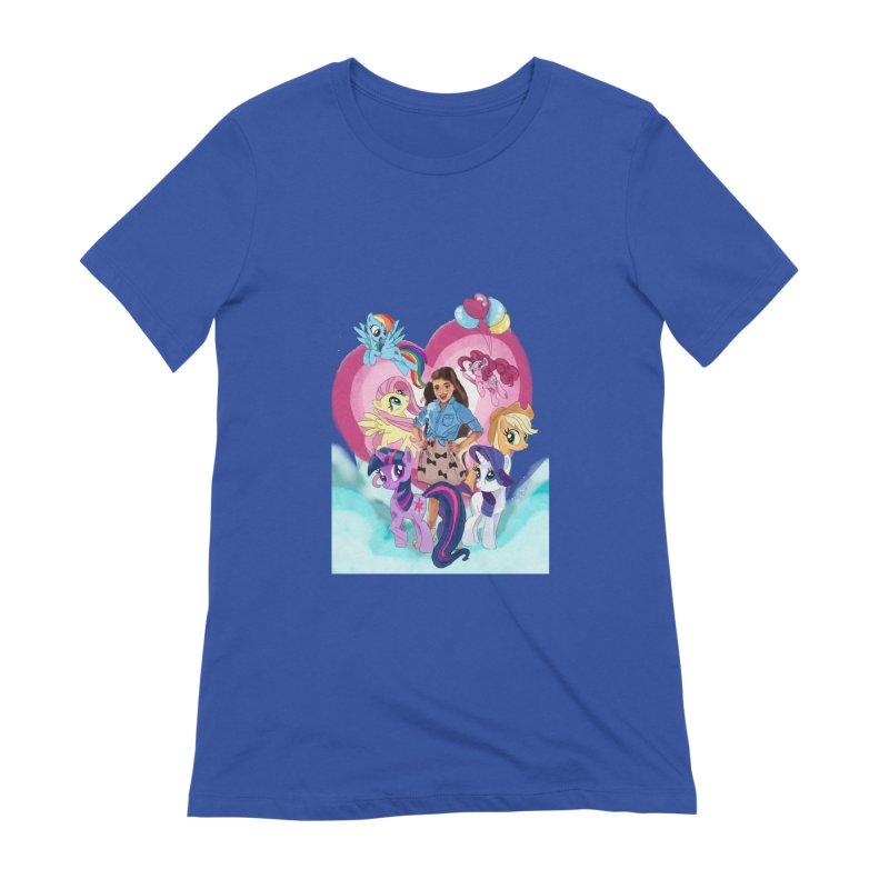 My Little Pony Women's T-Shirt by Eii's Artist Shop
