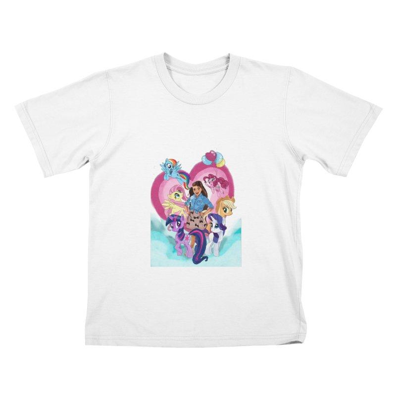 My Little Pony Kids T-Shirt by Eii's Artist Shop