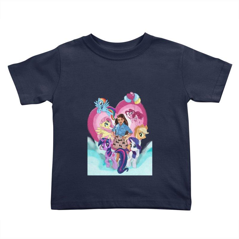 My Little Pony Kids Toddler T-Shirt by Eii's Artist Shop